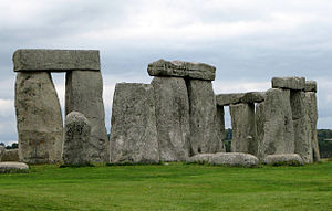 English: Stonehenge, Wiltshire county, England...