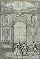 """Stratto dal libro """"Fiestas Reales"""" di Farinelli. Il primo, da destra, dei cinque musicisti dietro il clavicembalo, è Domenico Porretti.jpg"""