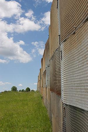 Observation Post Alpha - East German border fortification near OP Alpha