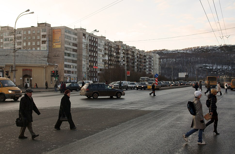 Street in Murmansk
