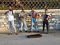 Street musicians in Limenas, Thassos, Greece.jpg