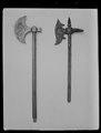 Stridsyxa efter orientalisk modell , 1800-tal - Livrustkammaren - 10836.tif