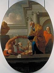 Saint Pierre guérissant un paralytique
