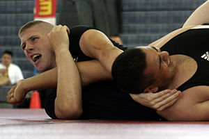 300px Submission wrestling Wrestling & Aikido