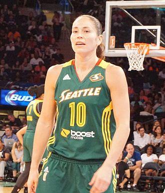 Sue Bird - Bird during the 2015 WNBA season