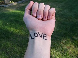 To Write Love on Her Arms - Example of individual participating in TWLOHA