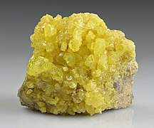 Sulfur - El Desierto mine, San Pablo de Napa, Daniel Campos Province, Potosí, Bolivia.jpg