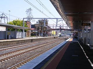 Sunbury railway station, Melbourne