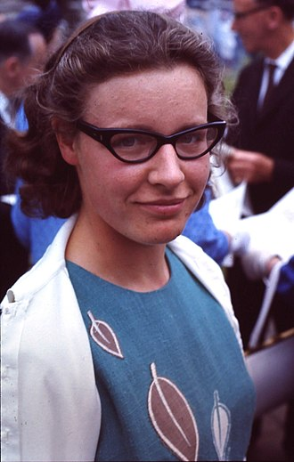 Jocelyn Bell Burnell - Jocelyn Bell, June 1967