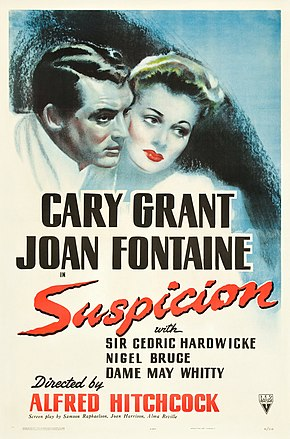 Description de l'image Suspicion (1941 poster).jpg.