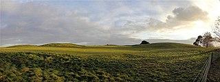 Sutton Hoo Archaeological site near Woodbridge, Suffolk
