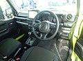 Suzuki Jimny SIERRA JC (3BA-JB74W-GJCR-J) interior.jpg