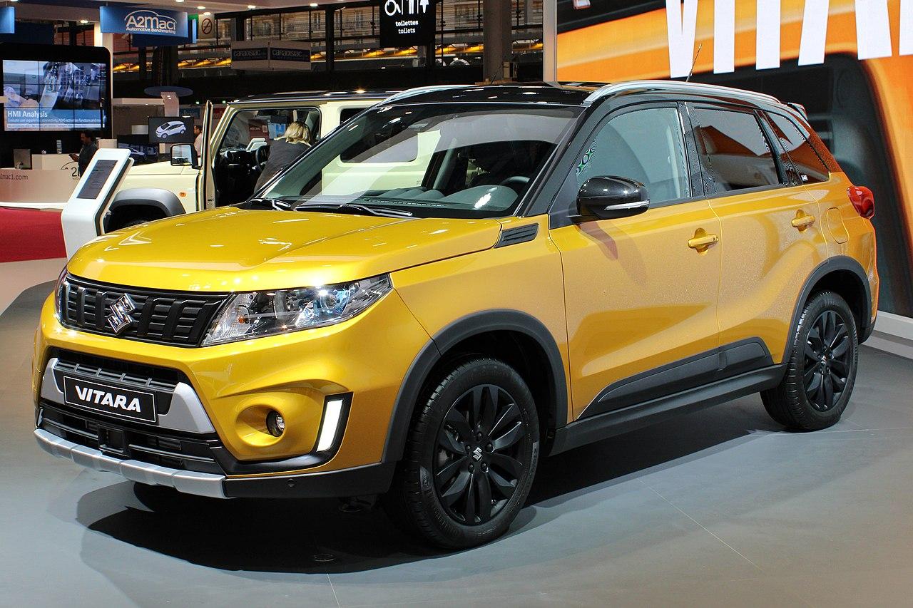Fichier:Suzuki Vitara Facelift, Paris Motor Show 2018, IMG