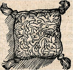Sachet - Sachet cushion of the 16th century