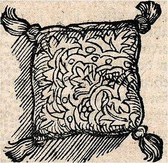 Sachet - Sachet cushion of the 16th century