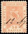 Switzerland Bern 1880 revenue 30rp - 12C.jpg