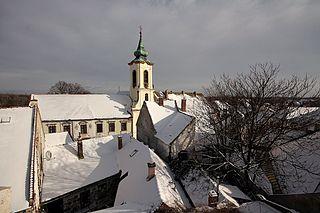 Szentendre Town in Pest, Hungary