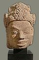 Tête de divinité, art cham (musée Guimet) (12234799995).jpg