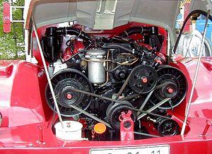 Tatra 111 - Image: T111Engine