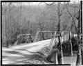 THROUGH VIEW FROM SOUTHWEST - McPherson Bridge, Spanning Candies Creek at County Road A165, Eureka, Bradley County, TN HAER TENN,6-EURK.V,1-5.tif