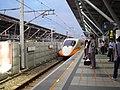 THSR 700T train at THSR Tainan Station 20120726.jpg