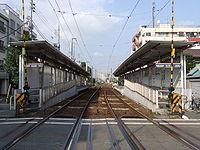TKK Matsubara station.JPG