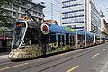 """TPG Tram Stadler Be 6-10 Tango """"Pup IP-Suisse"""" (18047433414).jpg"""