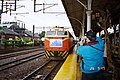TRC train arrived TRA Taichung Station 20050226.jpg