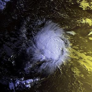 1998 Atlantic hurricane season - Image: TS Alex 31 july 1998 0923Z