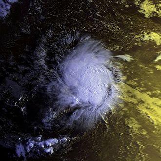 1998 Atlantic hurricane season - Image: TS Alex 31 july 1998 0923Z