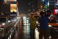 TTV News at Zhongxiao West Road Bus Exclusive Lane 20141225.jpg