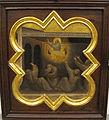 Taddeo gaddi, storie di cristo e di s. francesco (armadio di s. croce), 1335-40 ca. 19 carro di fuoco 1.JPG