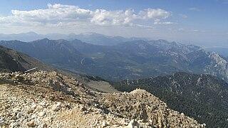 Tahtalı Mountain Range Mountain range in Turkey