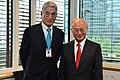 Takuya Hattori and Yukiya Amano 20130918.jpg