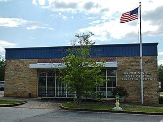 Talbotton, Georgia - Image: Talbotton, GA Post Office (31827)
