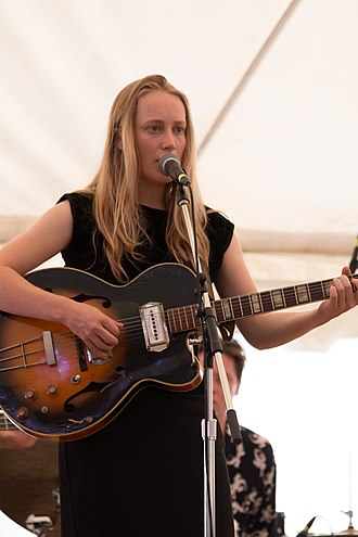 Tamara Hope - Lindeman performing at the 2015 Hillside Festival as part of The Weather Station