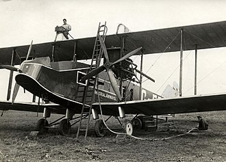 Airline - The Handley Page W.8b was used by Handley Page Transport, an early British airline established in 1919.