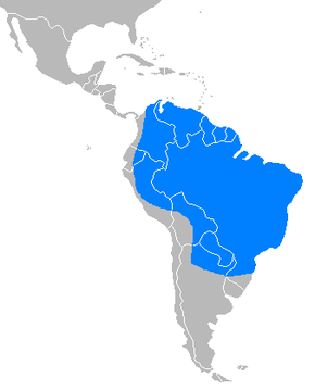 Description de l'image Tapirus terrestris distribution map.PNG.