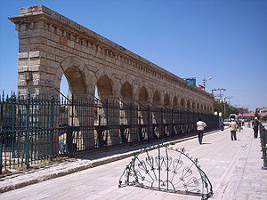 Taşköprü (Beyşehir) - Taşköprü as pedestrian bridge.