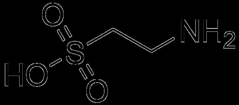 File:Taurine molecule.png