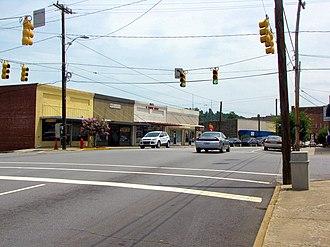 Taylorsville, North Carolina - Main Street in Taylorsville