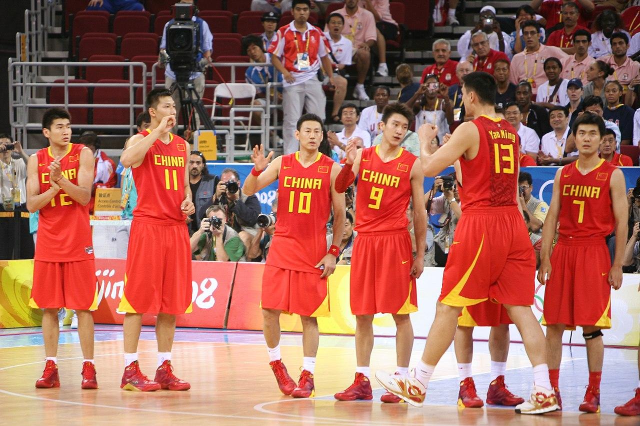 File:Team China - Mens Basketball - Beijing 2008 Olympics ...