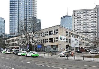Jewish Theatre, Warsaw - The Theatre building at Plac Grzybowski (Grzybowski Square)