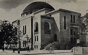 Great Synagogue (Tel Aviv) - The synagogue during the 1930s