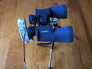 Subminiature photography - Minox BL with an 8x35 binocular for telephotography