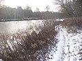 Teltowkanal - Winterlicher Uferweg (Teltow Canal - Wintry Waterside Path) - geo.hlipp.de - 32139.jpg