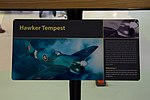 Tempest NV778 information board at RAF Museum London Flickr 2224250115.jpg