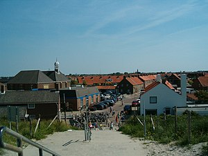 Ter Heijde - View of Ter Heijde from the coastal dunes