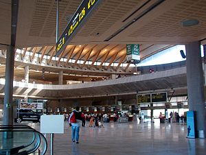 Tenerife-North Airport - Check-in hall