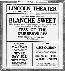 Tess of the d'Urbervilles 1924 newspaper ad.jpg